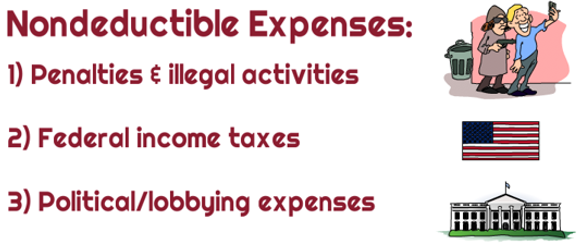Are penalties or illegal activity fines tax deductible for ...